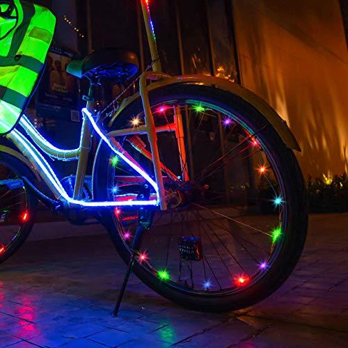 My-My Juguete Niño 5-15 Años, Luces de Ruedas de Bicicletas Regalos para Niñas de 5-15 Años Halloween Juguetes para Niños Ofertas para Navidad Regalos Niño Color