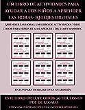 Fichas para trabajar en la guardería (Un libro de actividad