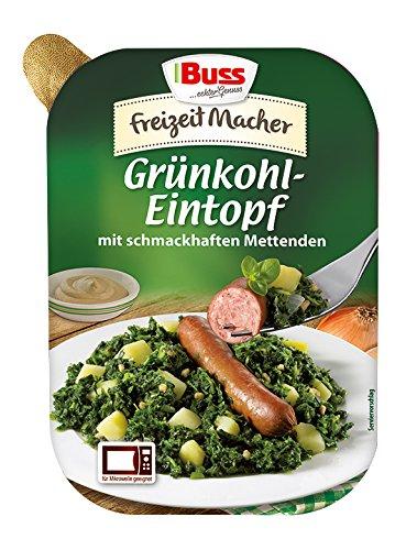 Buss Grünkohl-Eintopf mit schmackhaften Mettenden, 12er Pack (12 x 300 g)