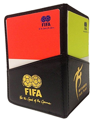 MiaoDuo New Sport Football Soccer Referee Wallet Notebook with Red Card and Yellow Card Minnesota