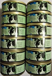 Trader Joe's Ocean Fish, Salmon & Rice Dinner Cat Food 12 Cans by Trader Joe's