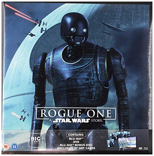 Rogue One - A Star Wars Story (Big Sleeve Edition) [Edizione: Regno Unito] [Blu-ray]