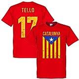 Tello Vintage Catalunya Tee - Red - XS