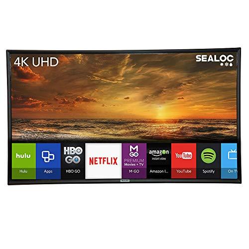 "Outdoor TV Full Weatherized 43"" UHD Smart Weatherproof LED Television Sealoc 4K"