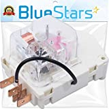 Ultra Durable W10822278 Refrigerator Defrost Timer by Blue Stars - Exact Fit for Whirlpool KitchenAid Kenmore Refrigerators/Freezers - Replaces PS11723171 945514 482493 R0950217 2188372