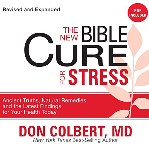 The New Bible Cure for Stress audiobook cover art