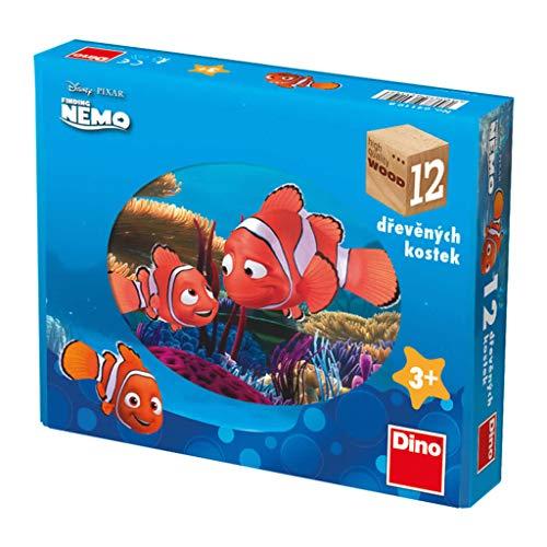 Dino Toys- Cubos de Madera del Puzzle (641198)