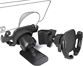 WERONE Air Vent and Dashboard Car Phone Mount, Easy Clip and Stick Phone Holder,360-Degree Rotating Adjustable