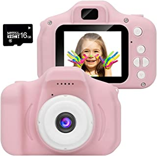 """HitHopKing Kids Camera, Toddler Camera 2.0"""" HD Toddler Video Recorder Children`s Gigital Camera Great Birthday Gifts for 3..."""