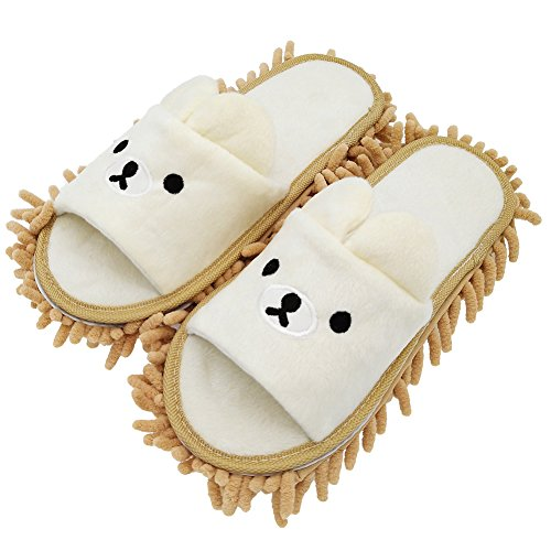 Product Image of the Selric Bear Microfiber Slippers