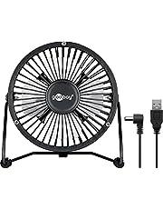 Goobay USB-ventilator, inch, 4 inch, zwart, 1