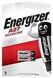 Energizer Batterie Alcaline A27, 12V, Confezione da 2
