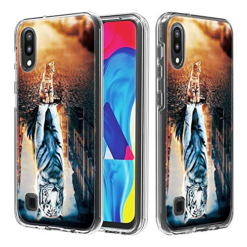 HiCASE Pro Funda parar for Samsung Galaxy A10/Samsung Galaxy M10, Cristal Shockproof Carcasa Ultra Silicona PC y TPU Slim Gel Bumper Antigolpes Cover Case