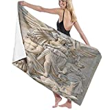 Toalla de baño de Calidad súper Suave, composición de Escultura en la fachada de la Ópera Garnier, París, Tacto Natural, Toalla de baño súper Absorbente