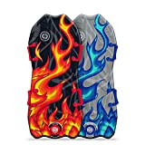 """Sno-Storm 45"""" Stylus Winter Snow Sled 2-Pack, Multicolor"""