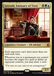Magic: the Gathering - Leovold, Emissary of Trest (077/221) - Conspiracy 2: Take the Crown