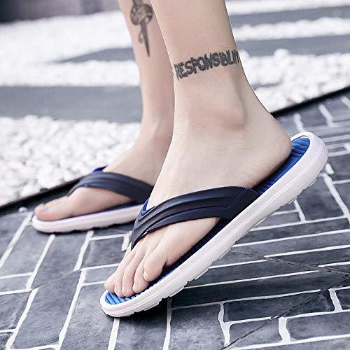 N/A Slippers Women Size 6,Mens Slippers Size 9 UK,Mens Slipper Boots,Sheepskin Slippers Men's,Kids Pool Shoes,Large Size Slippers, Men's Fashion Flip-Flops, Men's Beach Shoes-Blue_43