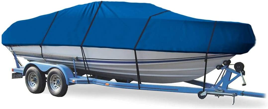 Blue Boat Cover Indefinitely for WELLCRAFT Scarab O 1985 Travel I low-pricing Storage
