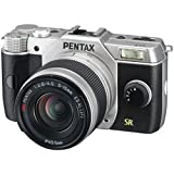 Pentax Q7 12.4MP Mirrorless Digital Camera with 02 Standard Zoom 5-15mm f2.8-4.5 Lens (Silver)