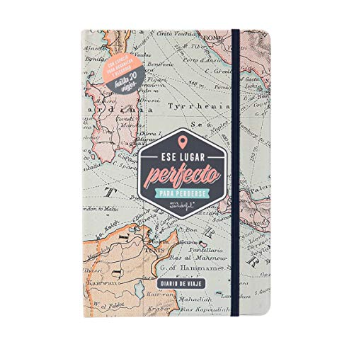 Mr. Wonderful WOA10131ES Diario de Viaje - Ese Lugar Perfecto para Perderse