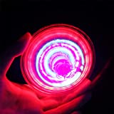 Gyro Piqueta giratoria de juguete para niños con luz LED de colores eléctricos, 2 paquetes