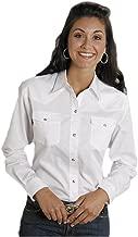 Roper Women's Long Solid Poplin L/S Shirt