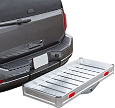 Discount Ramps Elevate Outdoor Hitch Cargo Carrier Tray Aluminum 550 lb. Capacity – Tray 49-1/8