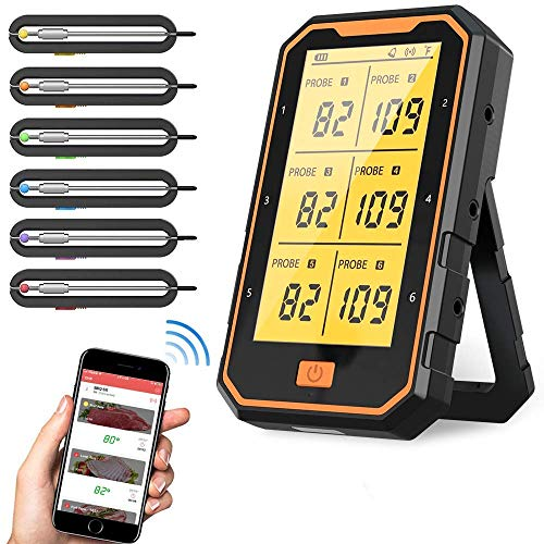 Bluetooth Thermometer Digital: IOS & Android