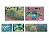 Boxed Set of 16 Fine Art Note Cards with...