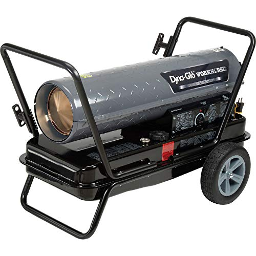 %10 OFF! Dyna-Glo Workhorse KFA220WH, 180K or 220K BTU Kerosene Forced Air Heater