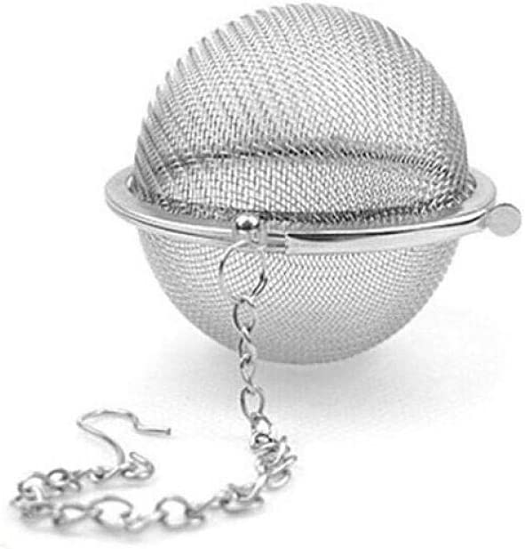 Teapot ball fine strainer stainless mesh Luxury for spic Large special price steel