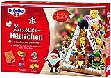 Dr. Oetker Knusper-Häuschen: Lebkuchenhaus und Dekorierset zum Basteln und Verzieren für die Weihnachtszeit - 403 g