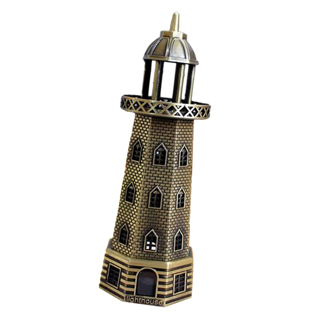 明確に警告する居間ビーコン置物 オーナメントライト灯台 灯台型 ホーム装飾 ベッドルーム 書斎 応接間 ホテル 記念品