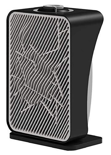Ardes AR4F06 Bath21 Termoventilatore Oscillante con 2 Potenze,Termostato e Grado di Protezione Ip21, 2000 W, Nero/Grigio