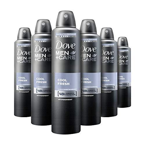 Dove Cool Fresh Anti-Perspirant Deodorant Aerosol for Men 250 ml - Pack of 6