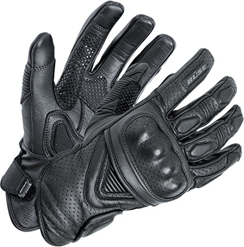 Büse Cafe Racer Handschuhe Schwarz 8 (M)