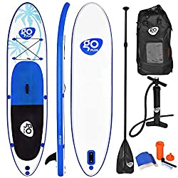 4. Goplus Non-Slip Deck - Best Inflatable SUP Board For Beginners and Professional