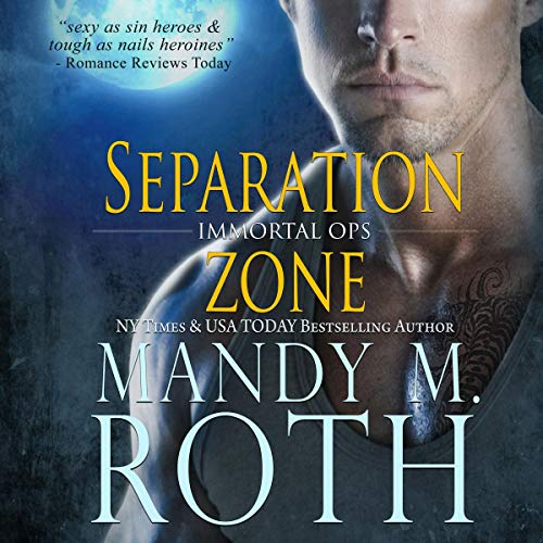 Separation Zone audiobook cover art