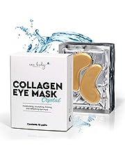 """30 stuks. Collageen oogpads """"24 K Eye Mask"""". Gouden anti-rimpels en anti-aging pads voor vocht en fijnere huid. Tegen donkere kringen en zwellingen."""