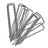 Erdanker Bodenanker Erdnägel Zeltheringe Stahl Bodenanker Zeltnägel Galvanischer Stahl Verzinkt f....