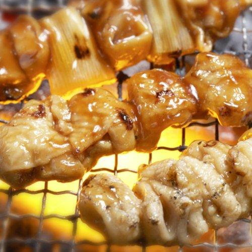 国産若鶏 焼き鳥セットbh(20本) もも串、ぼんじり串、各10本 水炊き で焼鳥鍋、おでんもオススメ