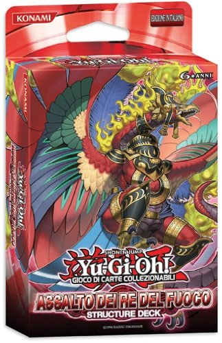 Yu-Gi-Oh! Structure Deck italiano 2013 ASSALTO DEI RE DEL FUOCO Starter