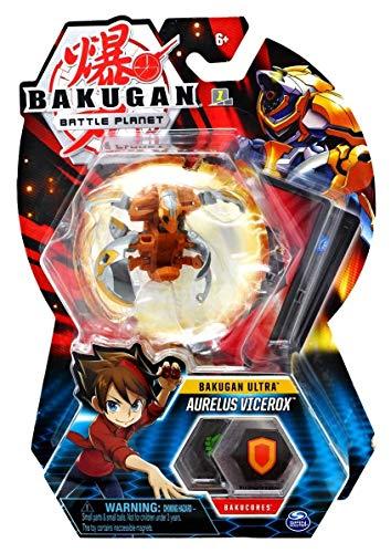 BAKUGAN Deluxe 1 Pack 3 Inch Figure Aurelus Vicerox