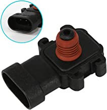 DOICOO Manifold Absolute Pressure MAP Sensor replaces 16187556 12569240 213-796 213-351 213-1742 fit for Chevrolet Cadillac Buick Pontiac GMC Isuzu Saturn Oldsmobile