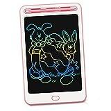 Richgv 8,5 Pulgadas Tableta Gráfica, Tablet de Escritura LCD Ewriter Tableta de Dibujo Grafico o Notas para El Hogar, Escuela U Oficina Adecuado como Juguete para Niños y Niñas (8.5 Pulgadas, Rosa)