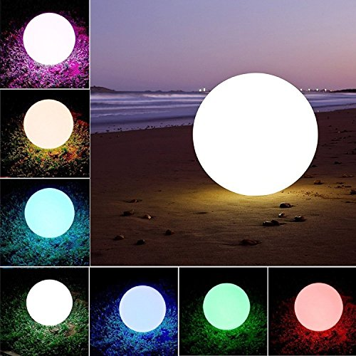 "Weihnachten, Party Dekoration Lichter,LED Ball Stimmungslicht, Nachtlichter,Swimming Pool Floating Light Wasserdicht Mehrere Modi ,Kinder LED Nachtlicht Innen Außenbeleuchtung (20cm/8"")"