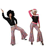 Funny Fashion 60er Jahre Schlaghose Herrenkostüm Disco Hose Saturday Night Fever Schlager Party...