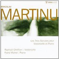 Cello Sonata, 1, 2, 3, : Chretien(Vc) F.michel(P)