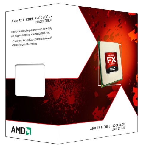 AMD FD6300WMHKBOX FX-6300 Hexa-core (6 Core) 3.50 GHz Processor - Socket AM3+Retail Pack - 6 MB - 8 MB Cache - Yes - 4.10 GHz Overclocking Speed - 32 nm - 95 W