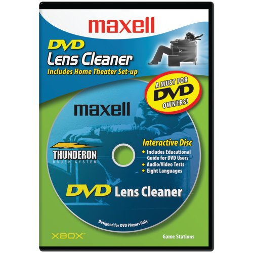 Maxell 190059 DVD Only Lens Cleaner, with...